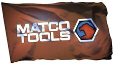 Matco Tools Flag Banner 3x5 ft American Products Wall Garage