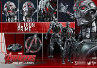 """AVENGERS AGE of ULTRON: ULTRON PRIME 1/6 Action Figure 12"""" HOT TOYS"""