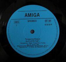 TANGERINE DREAM Quichotte 1981 AMIGA issue, TWO BALKS blue lb
