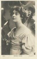 1907 VINTAGE REAL GLAMOUR PHOTO ADRIENNE AUGARDE POSTCARD sent to Sterling West