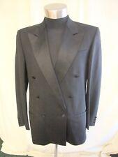 "Mens Dinner Jacket Roy Robson chest 38"", length 31"", black pure wool, slim 0679"