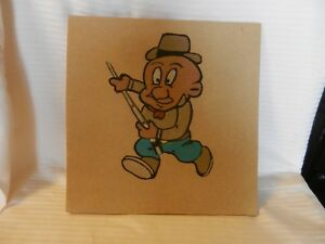 """Hunter With Rifle Cartoon Character Style Sand Art Multicolor 12"""" x 12"""""""