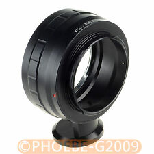 "Pentax K PK Lens to SONY NEX E Mount Adapter with Tripod 1/4"" Mount NEX-7 5 3"