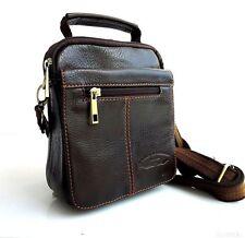 Genuine Leather Shoulder Bag Messenger man Briefcase small vintage handbags 10 z