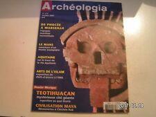**c Archéologia n°470 Epopée du Kybèlé / Teotihuacan / Chichén Itzá
