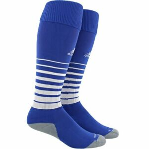 Adidas Kids Blue OTC Nylon Climacool Cushioned Team Speed Soccer Socks S 13C-4Y