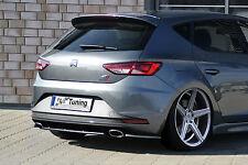 Heckansatz Heckdiffuser (Mittelteil) aus ABS für Seat Leon 3, 5F Cupra / R