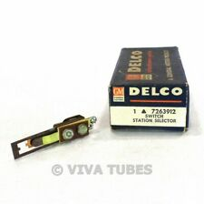 NOS NIB Vintage Delco 7263912 Station Selector Switch