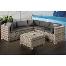 Garten Lounge Sets In Grau Günstig Kaufen Ebay