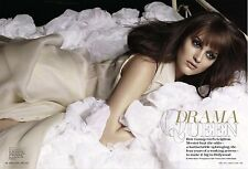 Leighton Meester 9pg + cover MARIE CLAIRE magazine feature, clippings