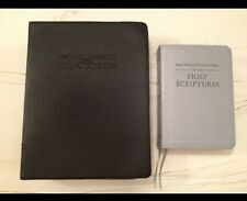 $18 SPECIAL IRREGULAR NEW WORLD TRANSLATION LARGE BIBLE COVER, Jehovah's Witness