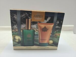 Aspen by Coty  cologne 1oz  aftershave lotion 2 oz gift set