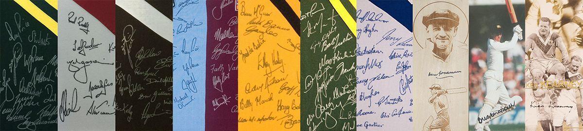 Rugby League & Cricket Memorabilia