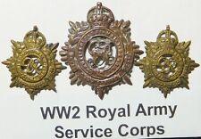 WW2 Royal Army Service Corps Badge set
