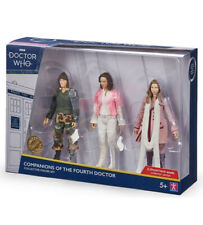 Dr Who Companions of the Fourth Doctor Collector Figure Set 2020 BBC