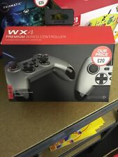 Giotek WX4 Premium Wired Controller for Nintendo Switch, PS3 And PC. New. Grey.