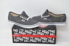 VANS Authentic Lo Pro - Women UK 2.5 eu 34.5 Pewter Grey/White stitching skater