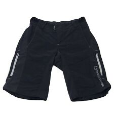 Endura Cycling Bicycle Shorts Nylon Pockets Men's Size  Small Double Layer