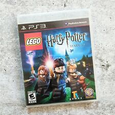 LEGO Harry Potter: Years 1-4 (Sony PlayStation 3, 2010) PS3 Complete