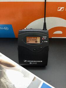 Sennheiser SK100 G3 ew100 G3 Freq 734 - 776 MHz C-Band Taschensender gebraucht