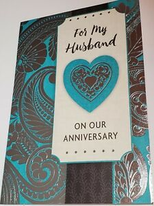 Husband Anniversary Card With Envelope