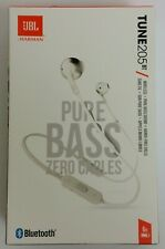 Harman JBL Tune 205BT Wireless Earbud Headphones Bluetooth Pure Bass Zero Cables