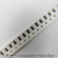 50 Stück SMD Widerstände Bauform 0402 Werte 1k - 10M Ohm 1% / 5% 0,063 W