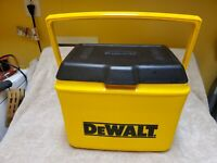 Dewalt Tools Small Ice Chest Cooler - Yellow & Black - By Rubbermaid