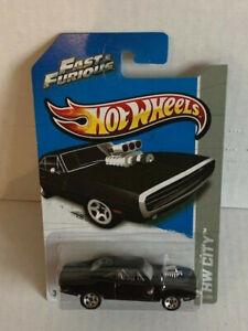 Mattel Hot Wheels Fast & Furious 1970 DODGE CHARGER R/T 3/250 HW CITY 2012 MOC