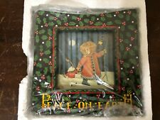 Mary Engelbreit Peace On Earth Picture Photo Frame Christmas 1996 Charpente Nib
