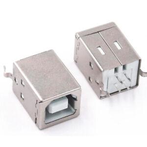 USB Type-B Female 4 Pin Straight Socket Port Printer DYMO DIY Repair RODE NT-USB