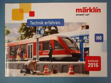 Märklin Katalog START UP, HO, 2016 A4 NEU, ungelesen