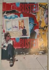 """Rare Vintage 2002 Dave Matthews Band Busted Stuff 24"""" X 36"""" Promotional"""