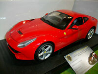 FERRARI  F12 BERLINETTA rouge 1/18 HOT WHEELS BCJ72 voiture miniature collection