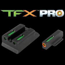TruGlo TFX PRO Ruger SR9/SR40/SR45 Tritium Fiber Optic Sight Set-TG13RS1PC