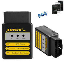 AUTOOL C1 OBD2 EOBD Bluetooth KFZ Diagnosegeräte Codeleser Scanner für Android