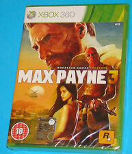 Max Payne 3 - Microsoft XBOX 360 - PAL New Nuovo Sealed
