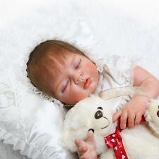 Reborn Baby Preemie Doll Silicone Soft Vinyl Newborn Dolls 22inch Realistic Gift