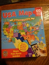 USA MAP PUZZLE, 60 Piece