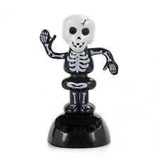 Solar Power Dancing Figure Gruesome Skeleton,Novelty Desk Car Toy Ornament