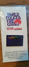 World Police and Fire Games 2007 Adelaide Australia Pin