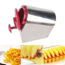 Potato Twister Tornado Slicer Potato Vegetable Cutter Spiral Fries Hot Dog Chips