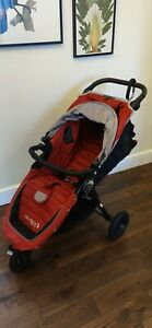 Baby Jogger City Mini GT Red Pushchair Single Seat Stroller