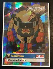 Nanimon Digimon Card Animated Series II Super Rare