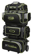 Storm Rolling Thunder Black/Grey/Lime 6 Ball Roller Bowling Bag