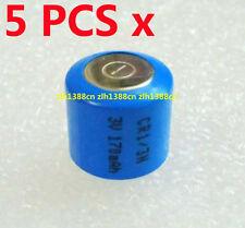 5 x 3V 170mAh Battery For CR1/3N CR13N CR-1/3N CR-13N K58L 13N 1/3N New