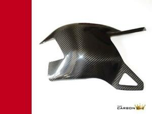 DUCATI 848 1098 1198 CARBON SWINGARM COVER IN TWILL GLOSS WEAVE FIBRE SWING ARM