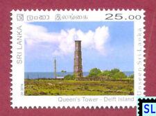 Sri Lanka Stamps 2016, Unseen, Queen's Tower, Lighthouse, Dutch, MNH
