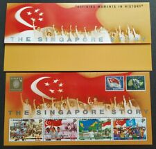 1998 Singapore Story Moments in History SingPex '98 MS Stamps 新加坡小全张邮票 --- 历史时刻