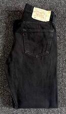MENS Levi's Strauss 501 Black Jeans Size W32 L30